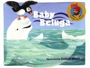 Baby Beluga (book cover)