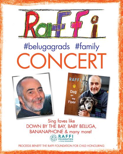 Raffi Concert poster