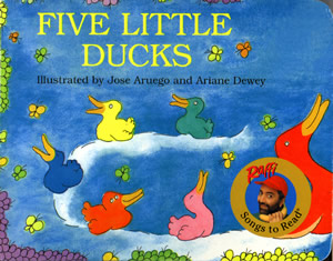Five Little Ducks (book cover)